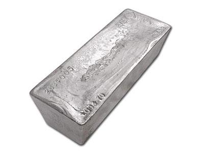 1000 Ounce Silver Bullion Bar - Zurich Bullion Vault
